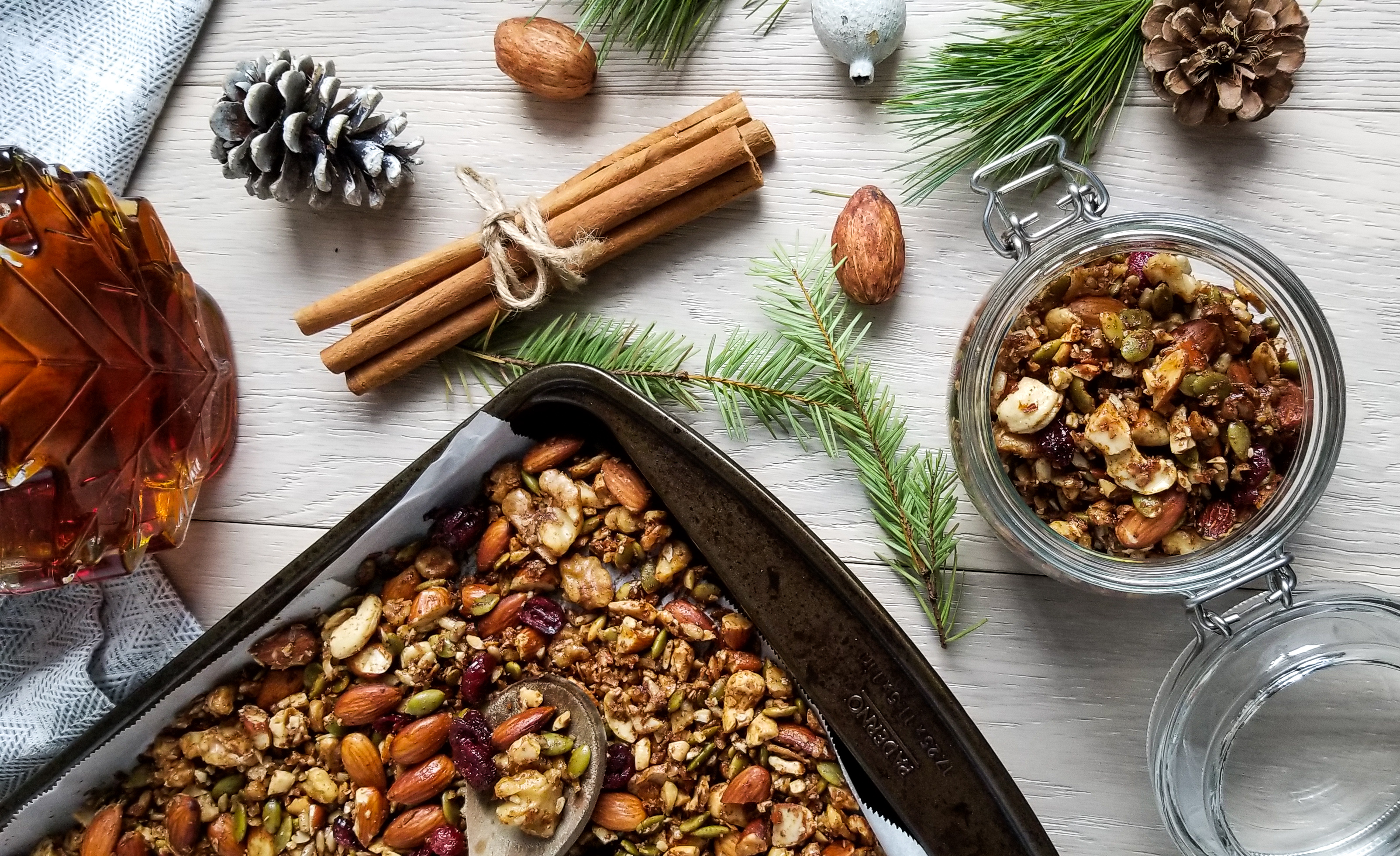 Grain-Free Gingerbread Granola