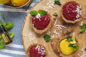 Tarts, tartlets, lemon, easter, raspberry, lemon