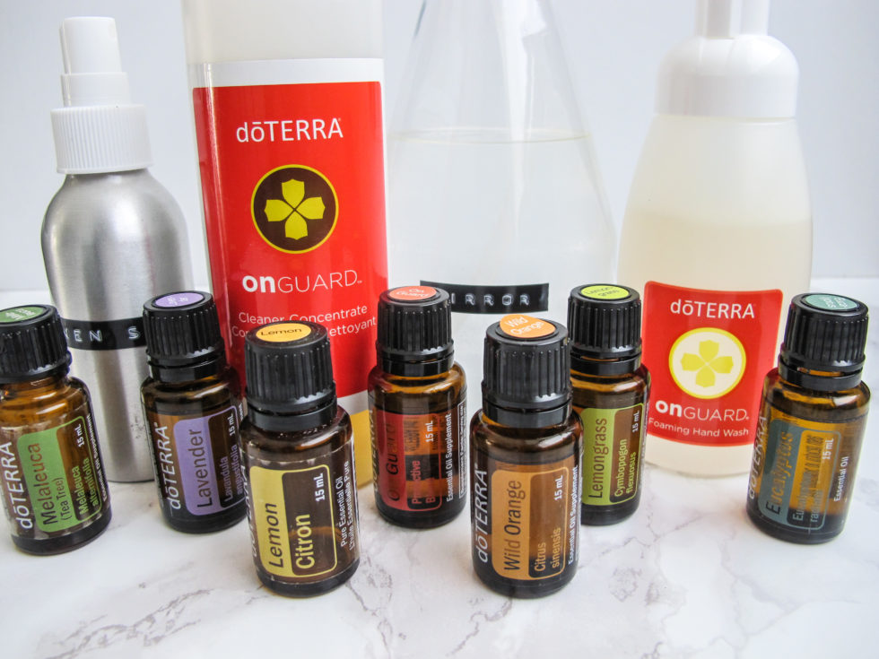 Doterra, cleaning products, DIY,