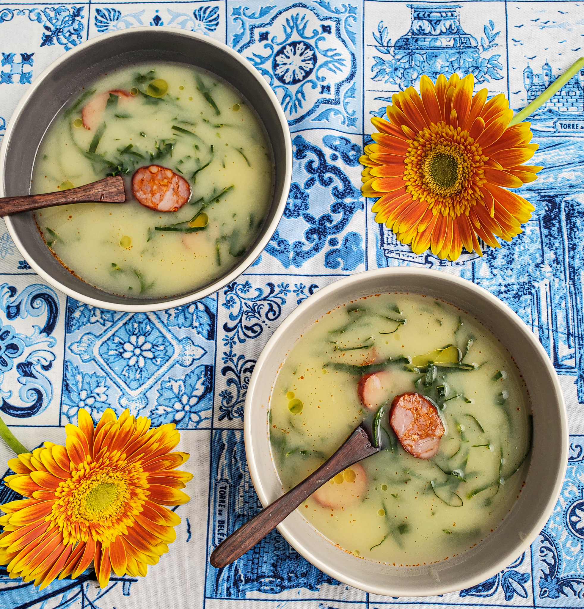Portuguese 'Caldo Verde' Soup