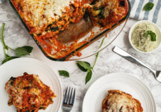 The Best Vegetarian Lasagna