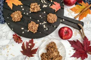 Apple Pie Oatmeal Cookies, gluten free, vegan
