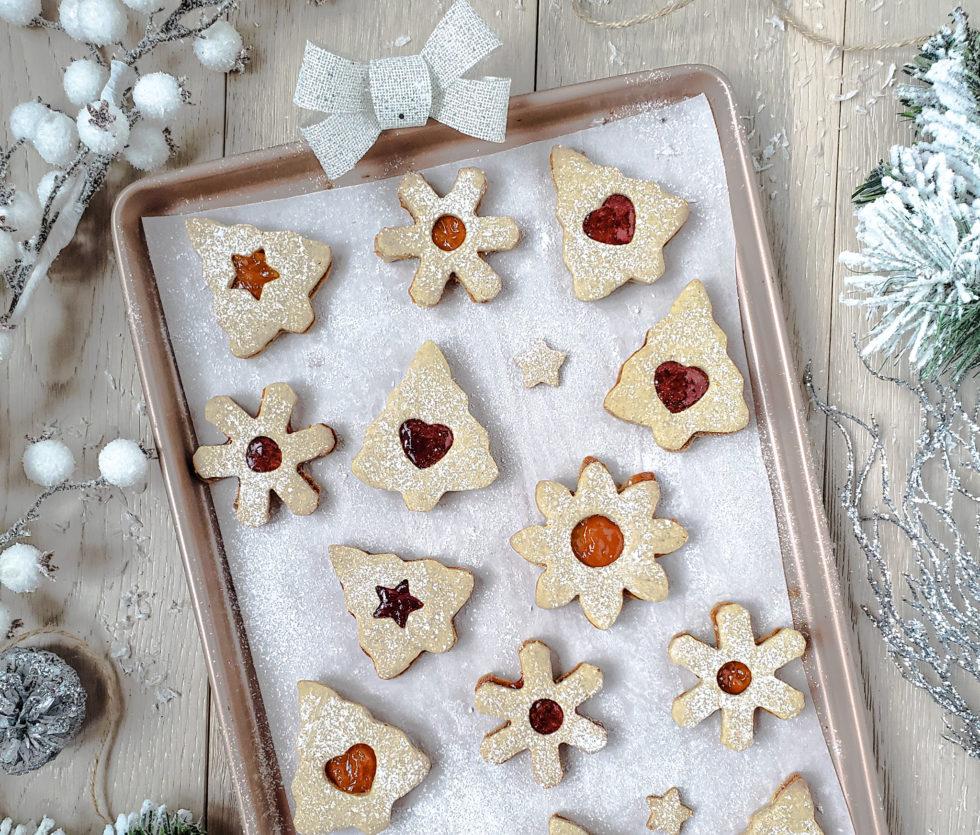 Gluten-Free Vegan Lizner Cookies