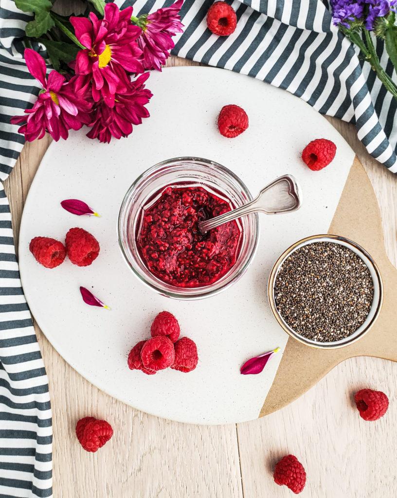 Raspberry Chia Jam