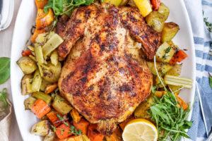 Roast chicken + piri piri + portuguese
