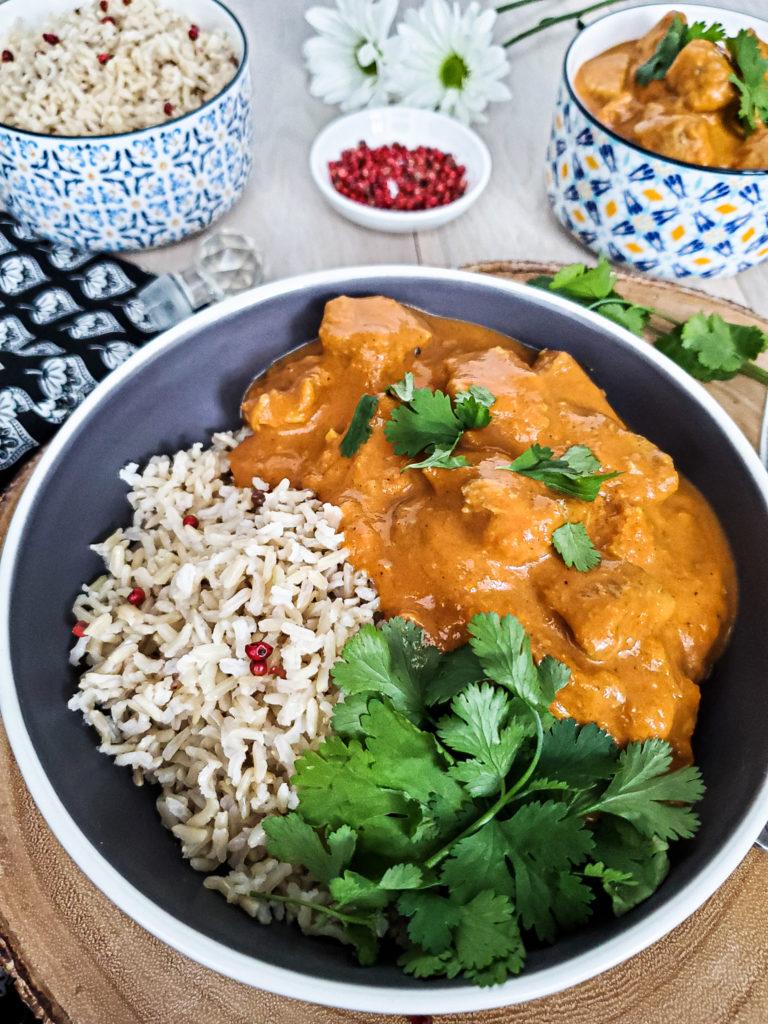 Slow Cooker + Indian Butter Chicken