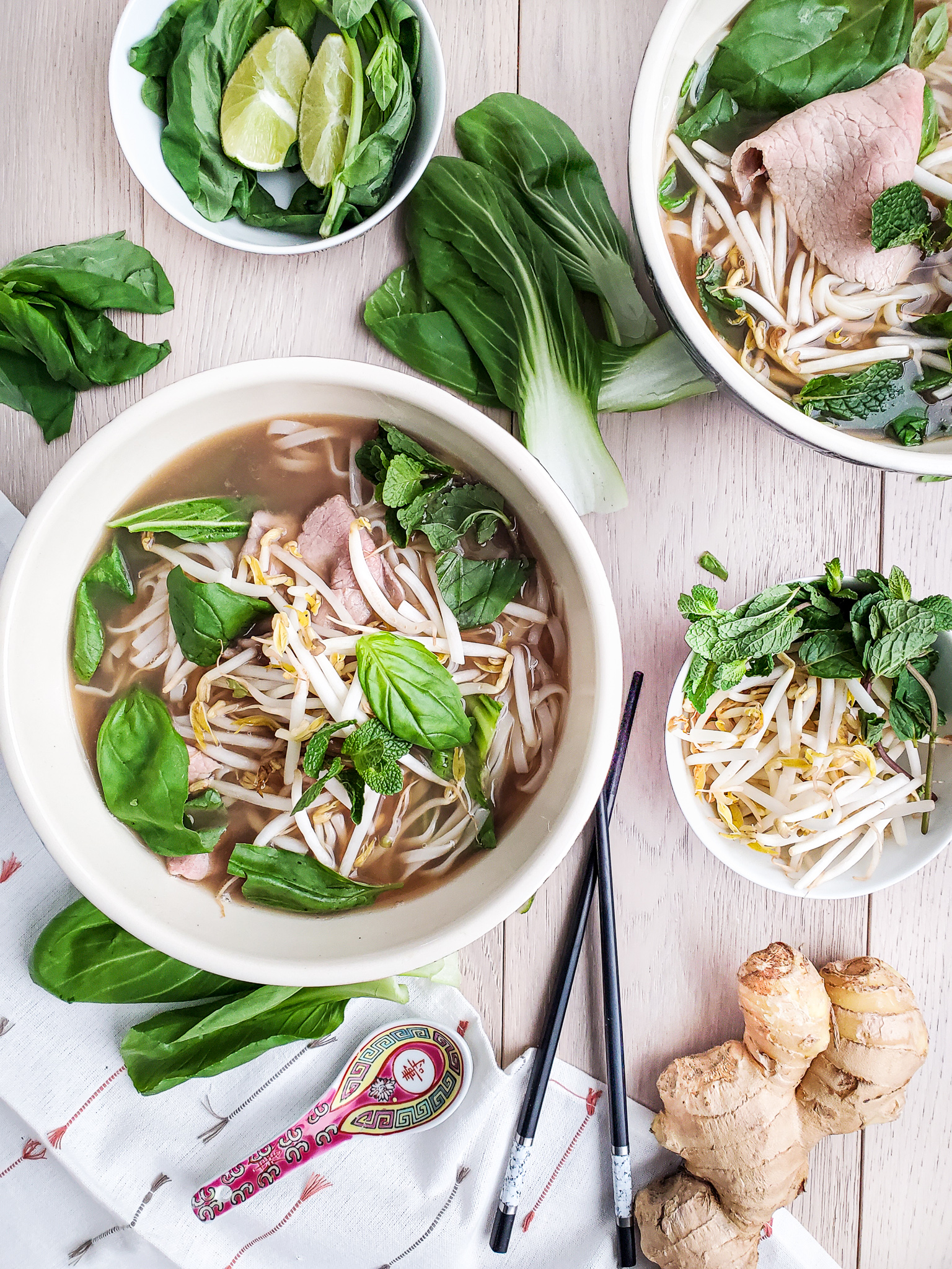 Delicious Easy Homemade Beef Pho