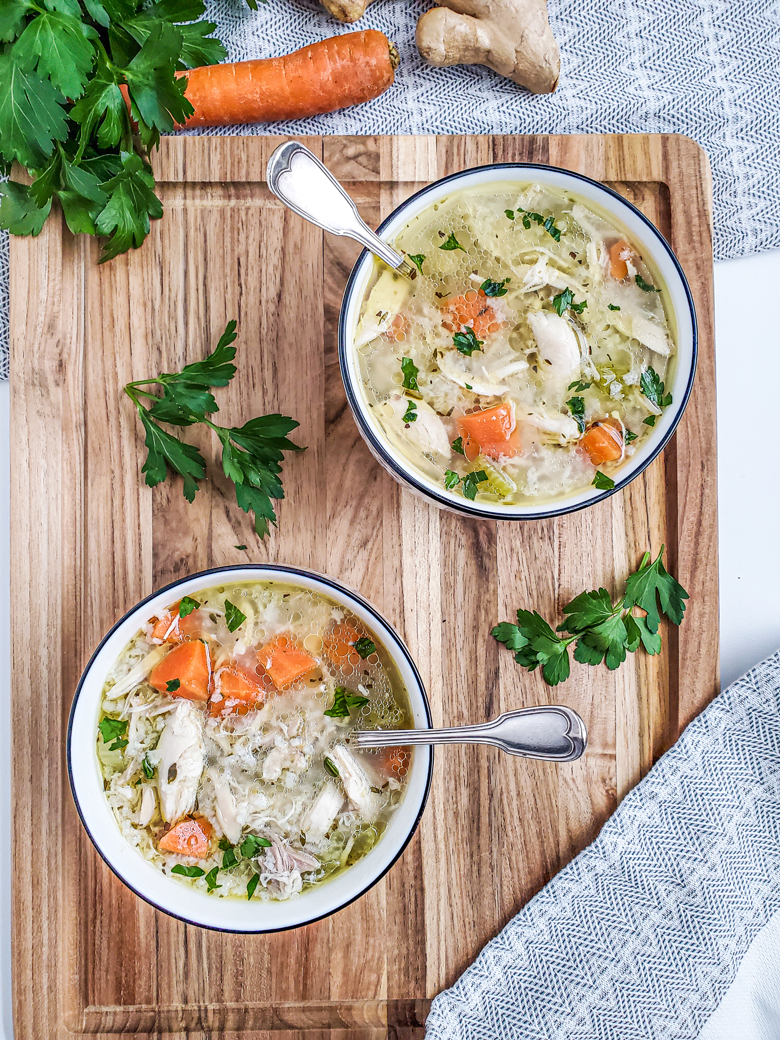 Healing Chicken and Rice Soup