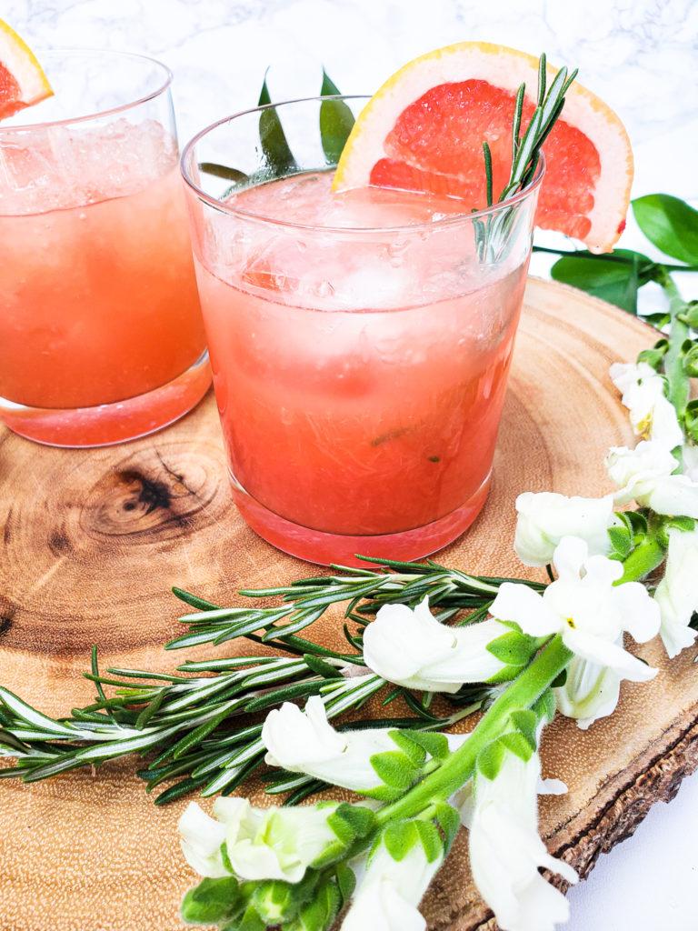 Aperol Grapefruit Greyhound Cocktail