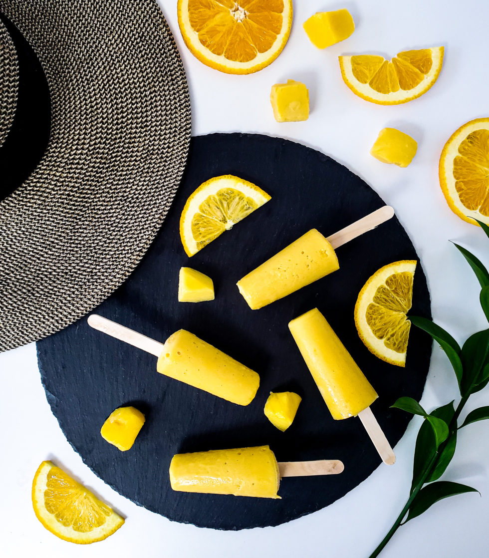 Vegan Creamsicle, mango, orange
