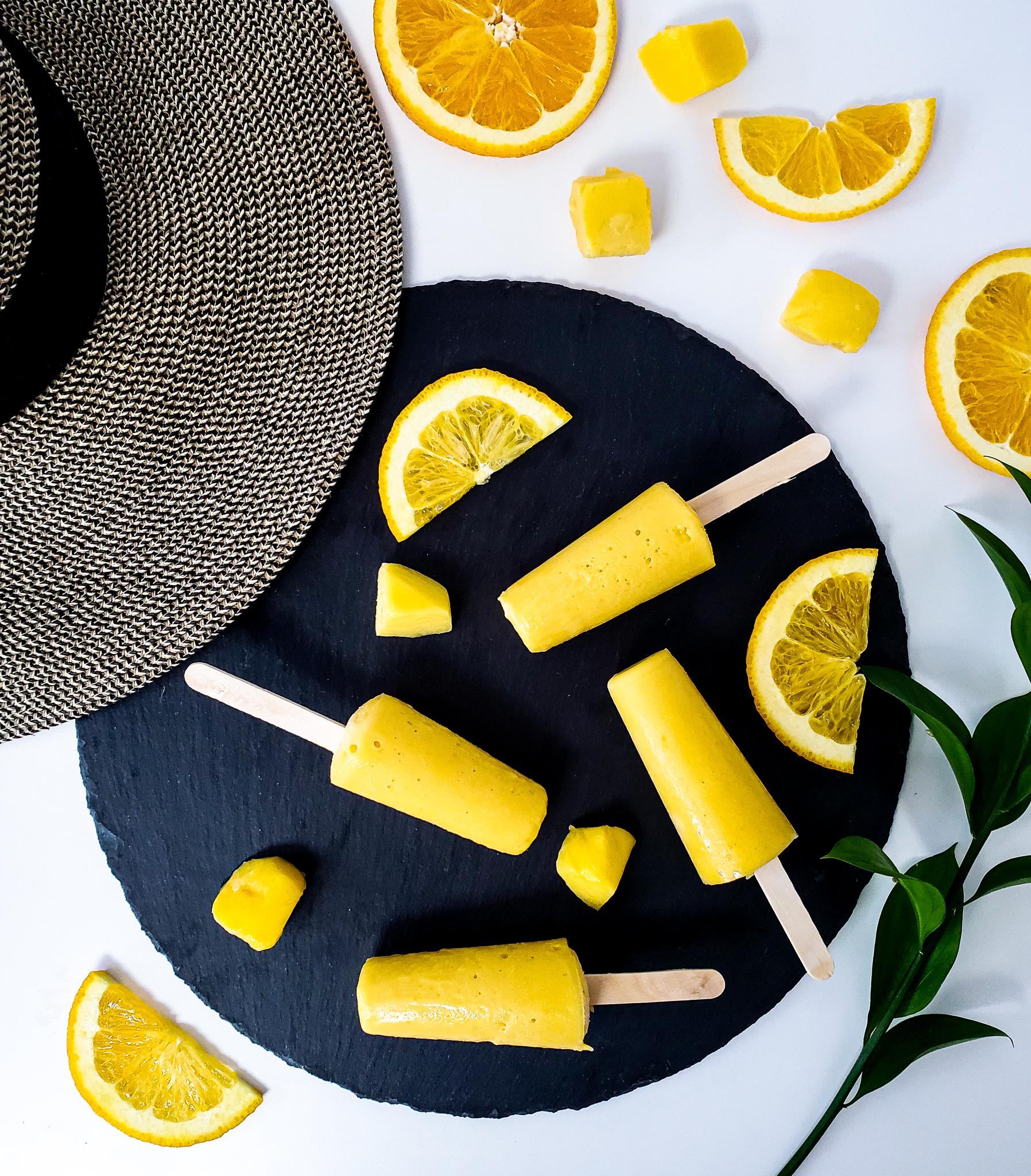 Vegan Mango Orange Creamsicle