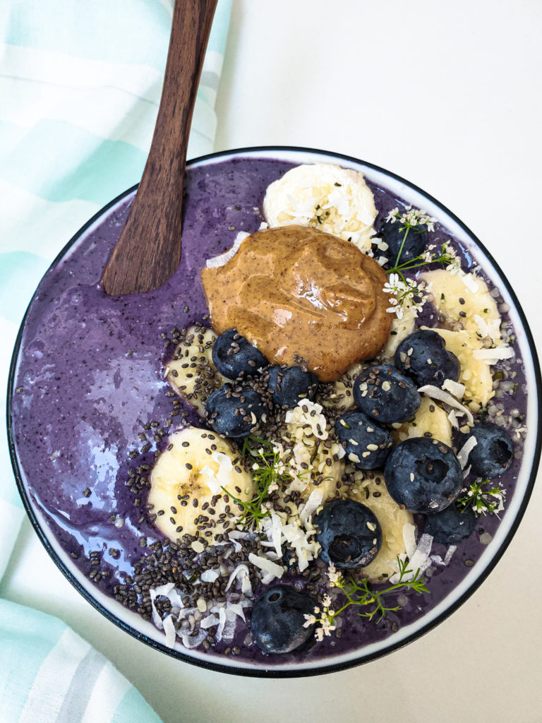 blueberry smoothie, brain