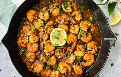 portuguese style shrimp